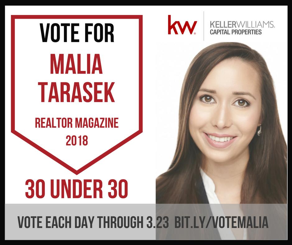 vote for kwcp associate malia terasek for realtor magazine s 30